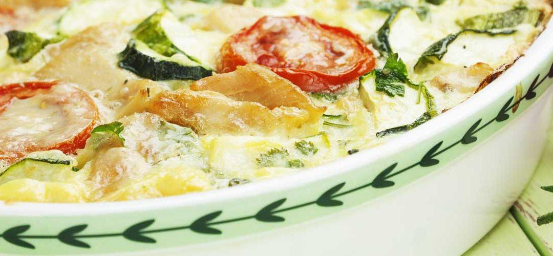 Chicken and Zucchini Bake