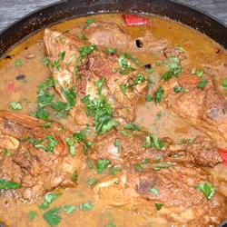 ... chicken paillards with avocado and pomegranate salsa chicken