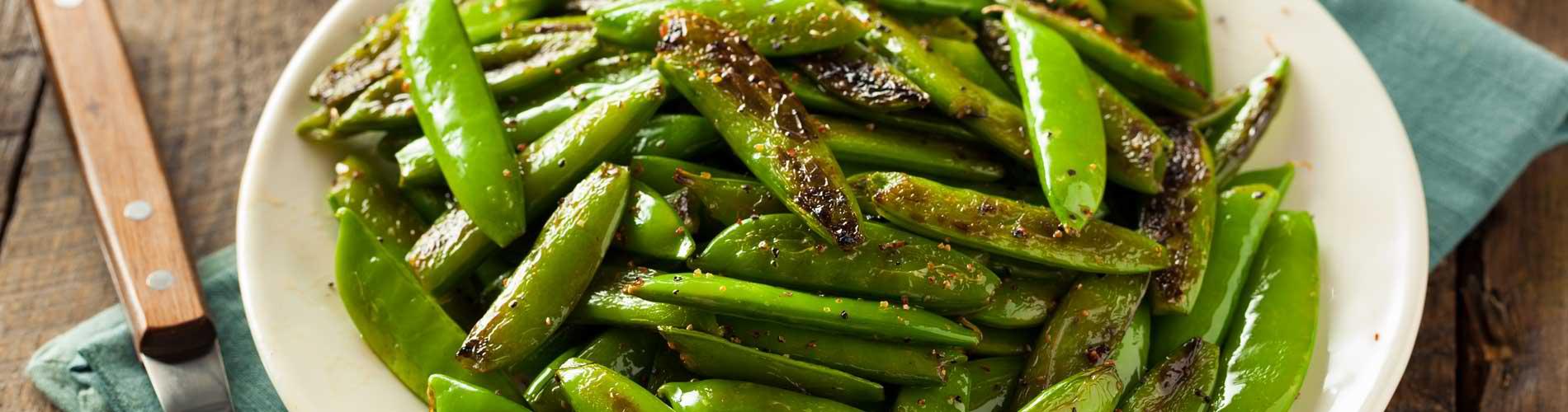 Sauteed Snap Peas
